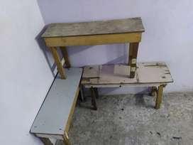 Wooden stool