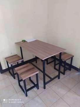 Meja kursi makan meja kursi resto meja kursi cafe