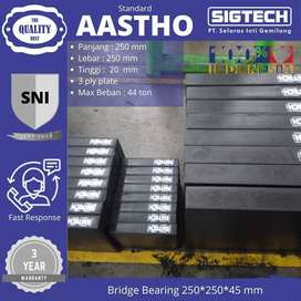 Bridge Bearing SIGTECH 250*250*20 mm