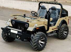 MODIFIED OPEN JEEPS READY ON ORDER IN PUNJAB
