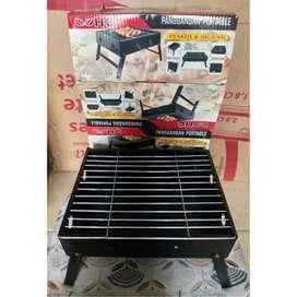 PROMO-DIANTAR SEYK-KOMPOR Grill Panggangan Portable HC PRAKTIS ARANG