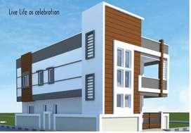 Independent Houses G + 1 @ Rameshwar Banda Village