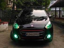 Fiat Punto Evo 2014 Petrol 37000 Km Driven