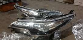 Fortuner new Model used head Lamps