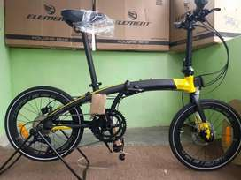 Sepeda Lipat Element Ecosmo Z9 BTW (Bike To Work)