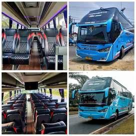 Ready trus Sewa mobil elf Hiace bus 3/4 Sewa elf Haice bus bis dll
