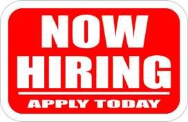 Full Time Job Apply Now For supervisor