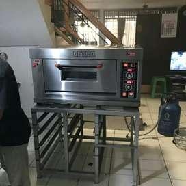 Gas oven bakery 1 deck 1 loyang rfl-11ss getra murah