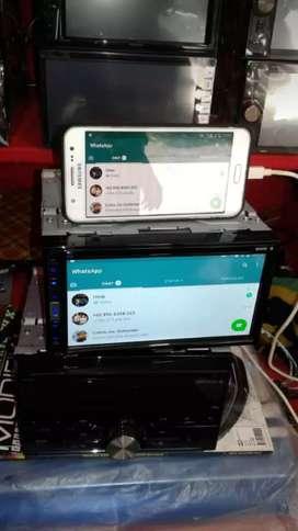Dobeldin pioneer mirorlink dvd usb aux radio Bluetooth