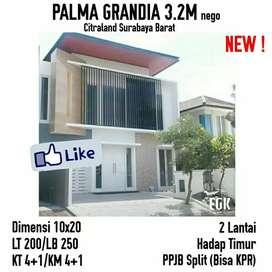 Rumah Murah Siap Huni Palma Grandia Citraland Surabaya