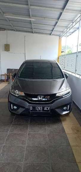 Honda Jazz RS CVT 2014 STNK 2015 plat D Kodya mulus bisa kredit