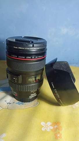 Lensa canon 24 105