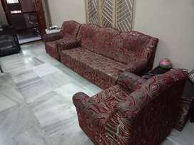 Sofa set + stand