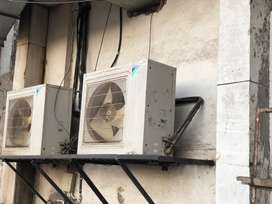 Daikin Ductable ACs 2 units in almost new condition