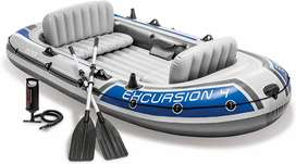 Intex Excursion 4 person Boat Inflatable