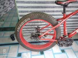 Galaxy bicycle