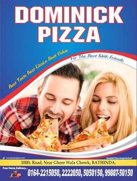 Dominick Pizza 100ft Road Near Ghore Wala Chowk job Opening