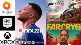 FIFA 21 / FIFA 22, Watch Dog, Far Cry 6, GTA V Online, PC Game