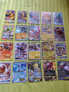 Extremely Rare Mint Condition Pokemon GX Cards