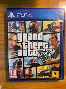 KASET PS4 BD BLUERAY GTA V