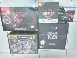 PC Rakitan Gaming High NEW Ryzen 3 feat RX 580 8GB Garansi Resmi