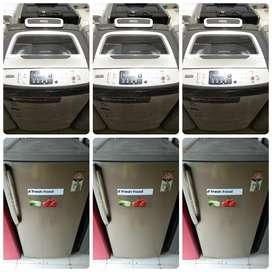 {Having 5 year warranty}[delivery free thane]{washing machine/fridge}
