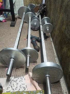 NEW GYM EQUIPMENT FOR SALE Rs.33000/- ONLY