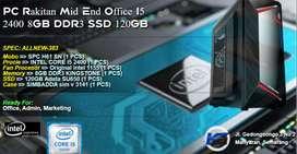 PC Rakitan Office Admin Marketing I5 2400 8GB DDR3 SSD 120GB