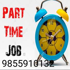 Part time job offer for 10th,12th& any deg