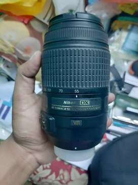 Nikon Afs 55- 300 mm VR available