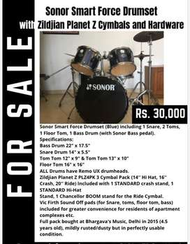 Drum Set for Students