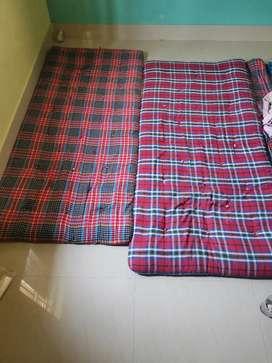 2 mattresses