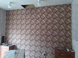 PVC wall panelling, wall paper , and much more Best rates in the town
