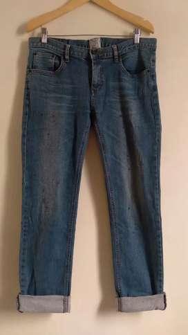 Panjang Jeans second import brand Authentic 35 (LP 90)
