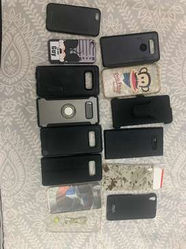 Samsung Galaxy note 8 and iphone xr and other random phone mobile cove