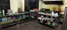 Full kitchen set up for lease/sale