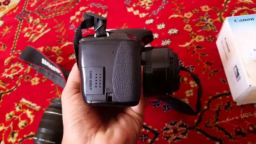 Canon 600d t3i with flashgun 0