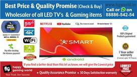 """55""""Smart Led Tv Unbelievable Brand New(Best Quality 24""""to65""""Wholesale)"""