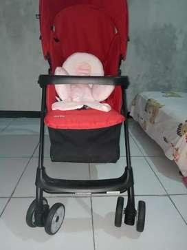 Stroller joie red