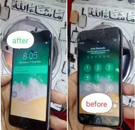 Iphone 6 screen only glass replacement service