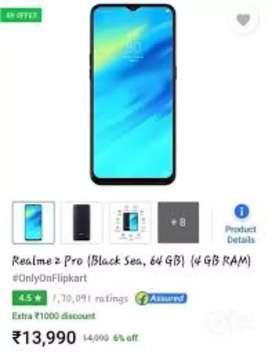 Realme 2pro 4gb 64gb
