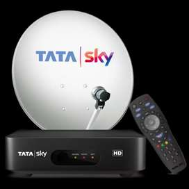 GET TATA SKY NEW CONNECTION WITH HD BOX