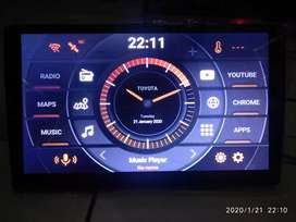 Head unit android 9 10 inch RAM 2