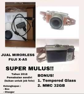 Mirorless Fuji x-A5