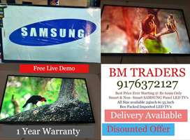 Biggest Offer Imported SAMSUNG Panel LED TV's with Free Live Demo