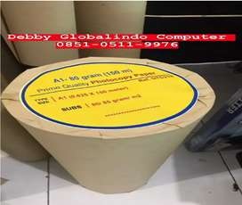 Kertas HVS Roll A1 80gr 150M - Debby Globalindo Computer Surabaya