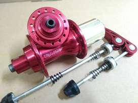 Hub Freehub 28H Jangkrik Bearing Cassette 8 9 10 Speed Seli Minion Red