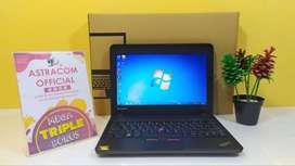 Netbook Lenovo Thinkpad X131e Mesin Bandel Body Kokoh