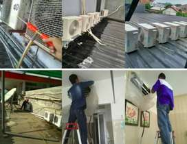 Layanan service ac, bongkar pasng ac, kulkas, msin cuci, pompa air.dll