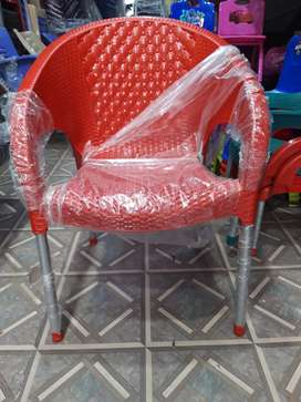 Best offer new model pure plastic 6 chair and 1 table